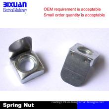 Hoja Spring Nut, Spring Nut, Square Nut