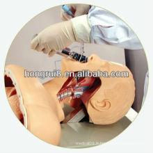 Modèle de l'intubation ISO Advanced Electric Airway, modèle de formation aux premiers secours