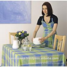 Gedruckte Tischdecke
