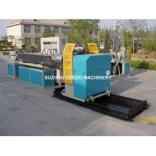 Machine de production renforcée d'extrusion de tuyau d'acier de PVC