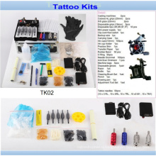 Wholesale Cheap Professional Tattoo Kit with Brand Quality Tk02