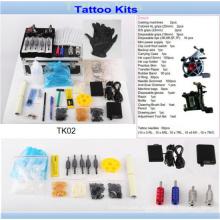 Kit de tatuagem profissional barato por atacado com marca qualidade Tk02