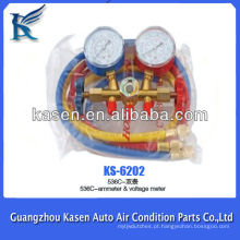 536C-Amperímetro e Medidor de Voltagem Ferramentas de Reparação de Frigoríficos Auto