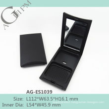 Hot sale Rectangular Compact Powder Case With Mirror AG-ES1039, AGPM Cosmetic Packaging , Custom colors/Logo