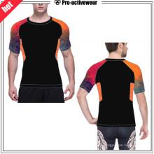 OEM de fábrica de malla del hombre Fitness Compression Wear
