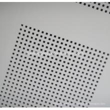 Diseño de tablero de yeso perforado tablero de yeso de PVC