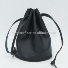 Высокого класса коровья кожа ювелирные изделия подарочная сумка с логотипом на заказ