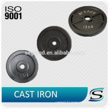 LBS fitness weight plate with rubber coated