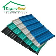 feuille de toit upvc résistant aux uv pour maison préfabriquée