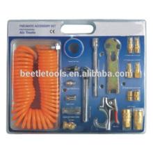 herramienta neumática de 21 piezas kit de accesorios neumáticos