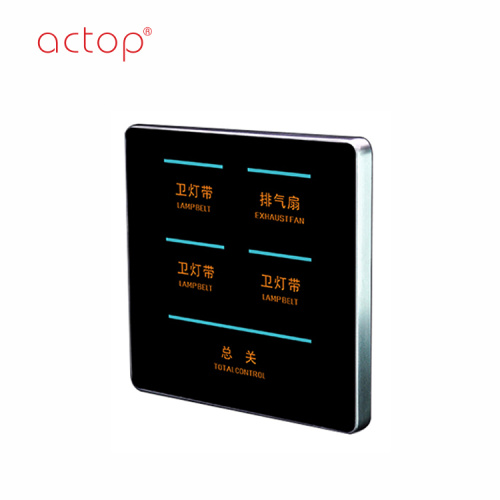 Shenzhen Actop ενσύρματο 3 Gang Smart Hotel Switch