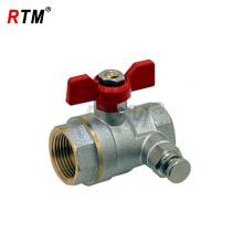 nickel plated brass ball valve