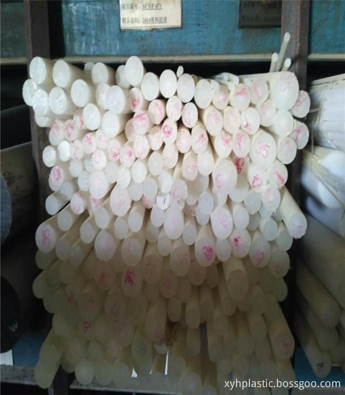 White nylon rod