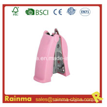 Plastic High Quality Pink Mini Stapler