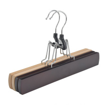 Top Quality  Natural Wig Hangers Custom Beech Wood Hair Extension Hanger for Bottom