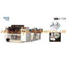 China Good Manufacture 2 Ply Duplex Thermal Paper Slitting Machinery