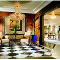 elegant gold drop k9 crystal chandelier ceiling light LT-70034
