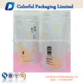 Personalizado MOPP Kraft saco de papel de embalagem de alimentos de chá sacos de lado saco de reforço / stand up ziplock saco para café Chá