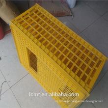 Frango pato pombo coelho ganso transporte gaiola caixa de caixa de gaiola de frango de plástico