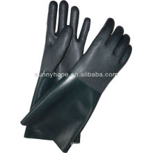 PVC sandig beschichtete Handschuhe