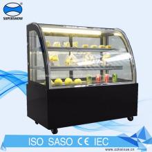 Cake refrigerator showcase display cake fridge