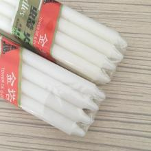Angola Cellophane 23g White Candle Velas 8x65bags