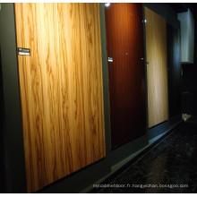 Wood Grain MDF High Glossy Desk (fabricant professionnel)