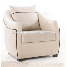 PU leather wooden arm sofa chair XY2730