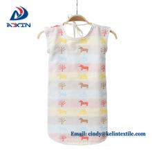 Hot selling summer kids baby muslin 100% cotton baby sleeping bag