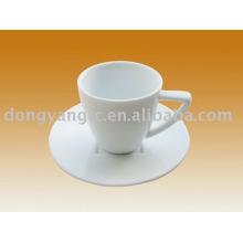 Factory direct wholesale porcelain white tea cup