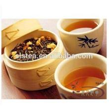 Flavor Jasmine flower green tea with EU standard