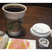 Pequenos, médios e grandes copos de café personalizados
