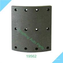 doublure de frein fabricant 19562 19563 2725232 2727460 pour Volo matériau de garniture de frein