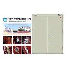Venta caliente China alta calidad puerta incombustible de acero