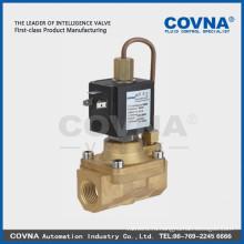 Управляемый диафрагмой 2/2 нормально закрытый электромагнитный клапан высокого давления воздушная вода масло латунь 1/2 дюймовый электромагнитный клапан