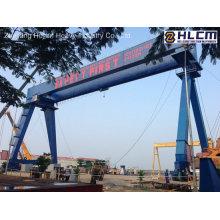120t + 120t-50.5m / 24m Goliath Grue à portique pour chantier naval