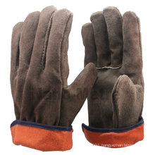 NMSAFETY leather driving glove