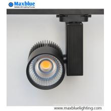 20W / 30W / 45W branco prata preta CREE COB LED Track iluminação (MB-TL01-30W)