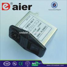 Filtro de ruído do filtro de 220V AC Emi para o sistema de energia