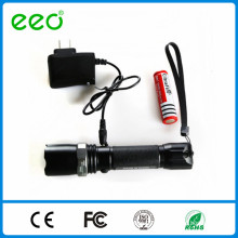 Wholesale alibaba t6 best led tactical police leds flashlight, rechargeable led torch flashlight