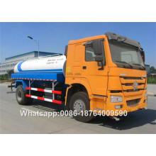 Camión cisterna de agua Howo 15000L de 290 CV