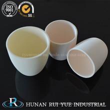 Crisol de cerámica Al203 99% para analizador de azufre y carbono