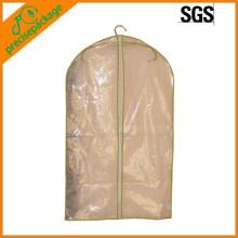 Reciclar una bolsa de plástico transparente con cremallera