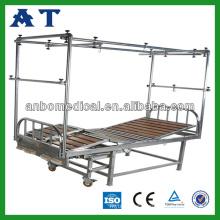 manual lumbar traction bed