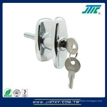 Zinc Alloy Furniture / Cabinet T Handle Lock