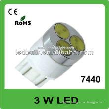 7440 3W high power 12V 24V led auto light