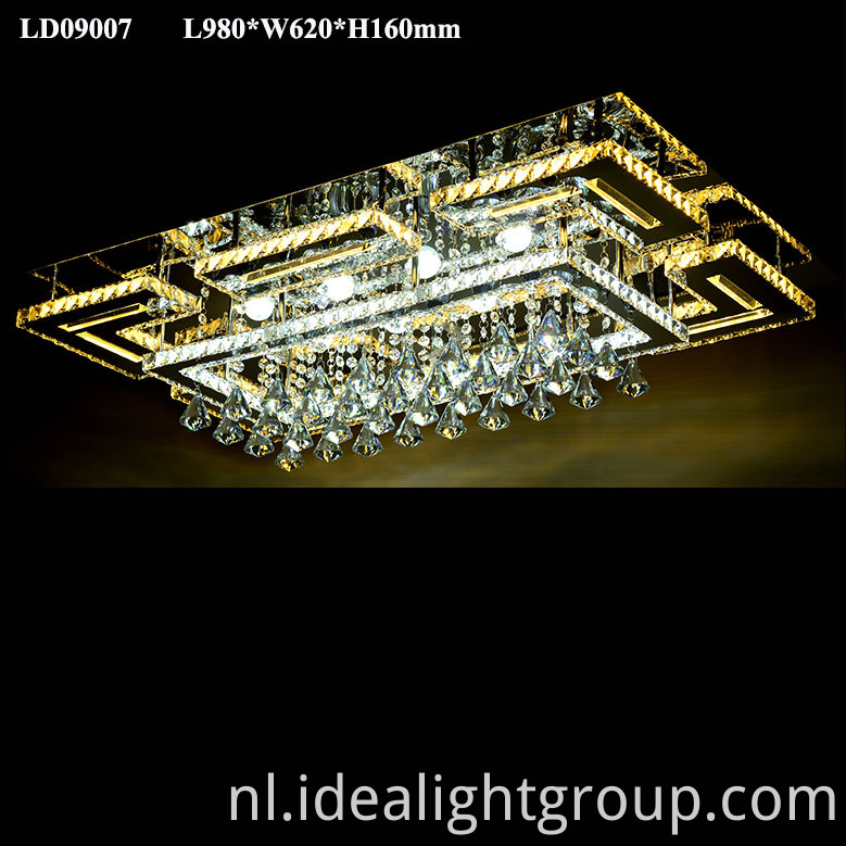 fancy crystal light chandelier