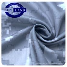 Impressão digital de impressão por sublimação 100% poliéster esportes em torno do pescoço malha de tecido
