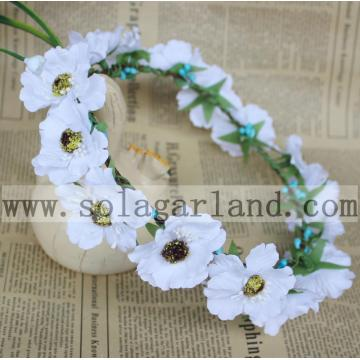 2016 Wholesale Flower Headband flower crown for wedding daisy headbands