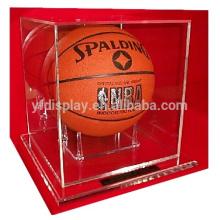 Acryl-Displaybox für Werbung in klar und schwarz